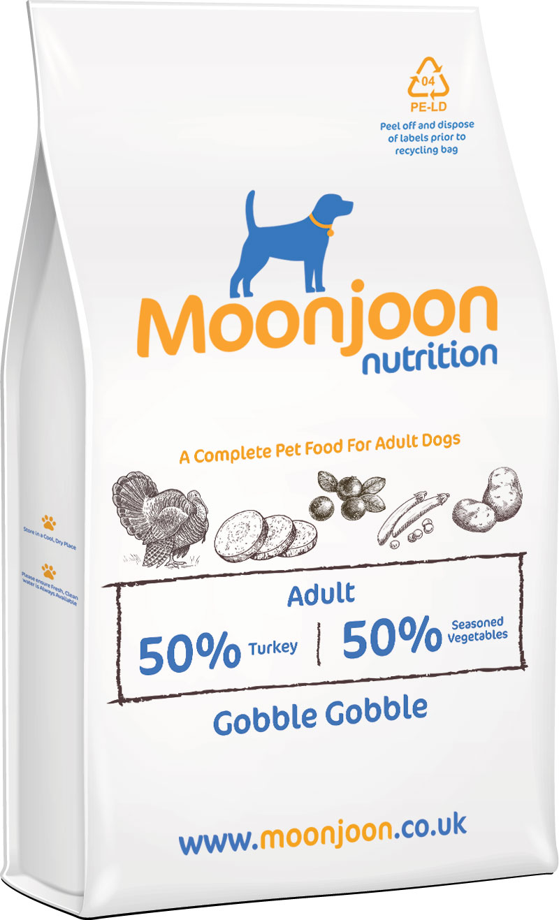 Gobble Gobble Dog Food by Moonjoon Nutrition