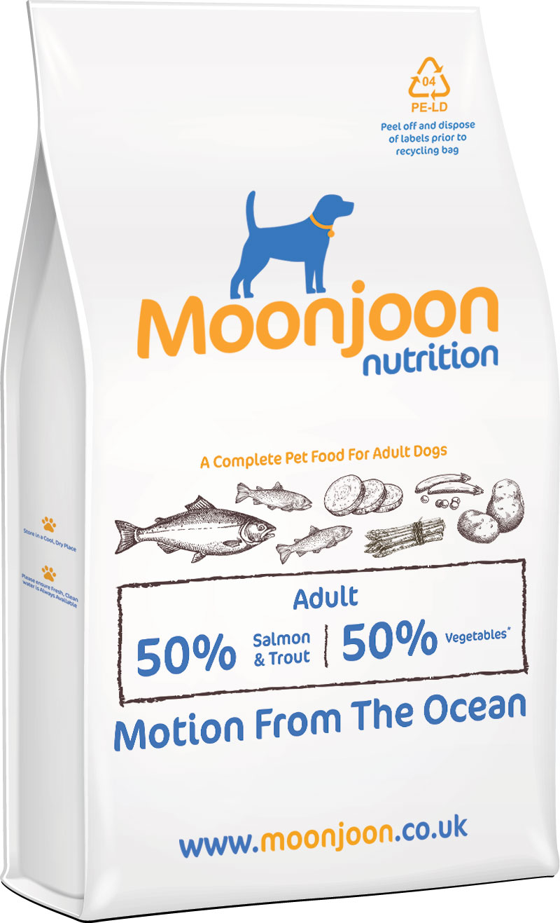 Motion from the Ocean Dog Food by Moonjoon Nutrition