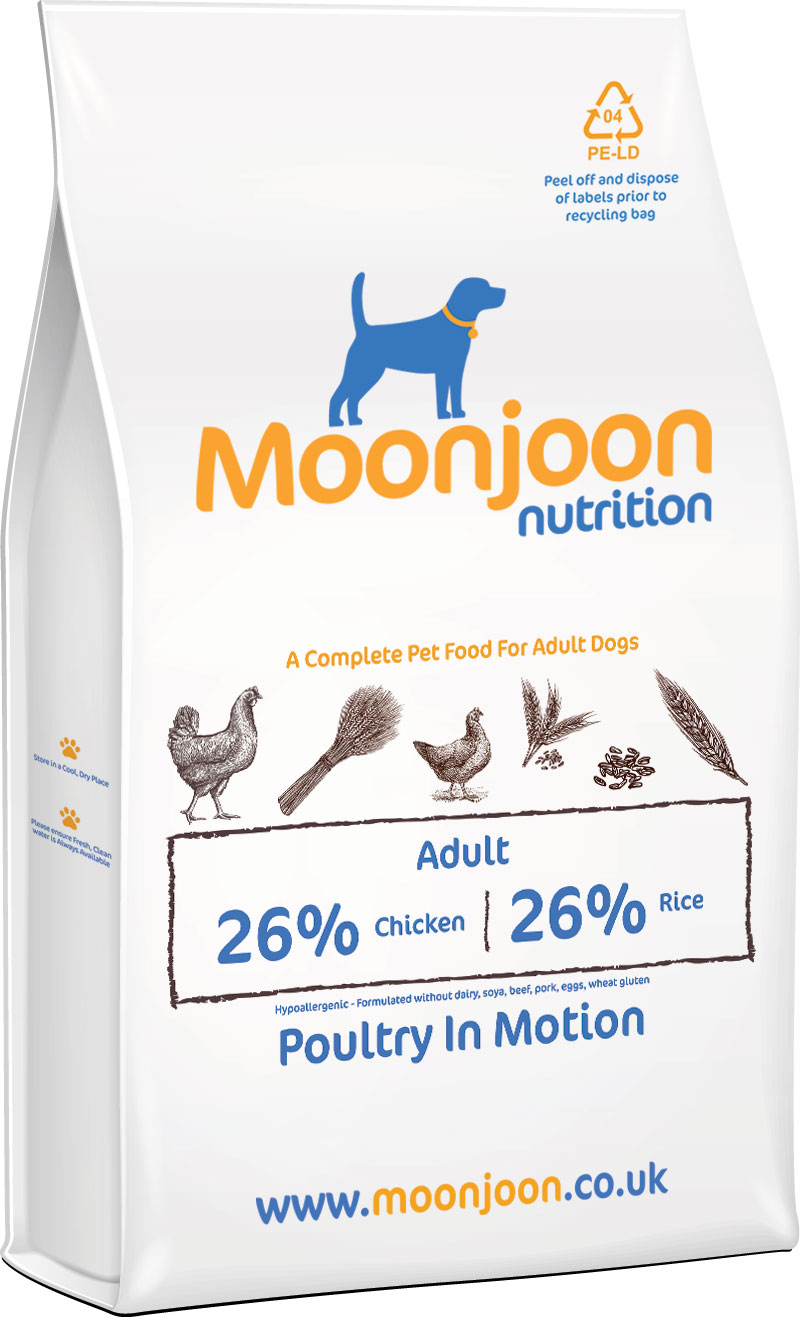 Poultry in Motion Dog Food by Moonjoon Nutrition