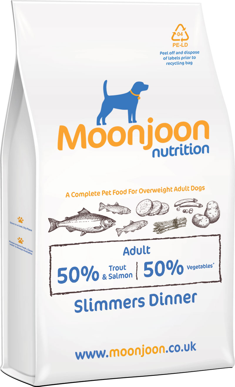 Slimmers Dinner Dog Food by Moonjoon Nutrition