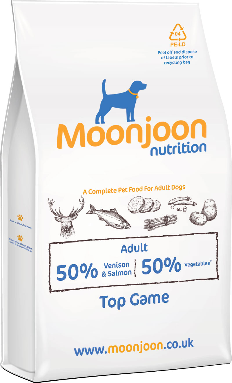 Top Game Dog Food by Moonjoon Nutrition